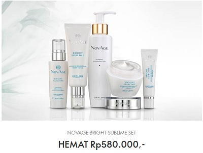 Harga dan Review Bright Sublime Set Oriflame