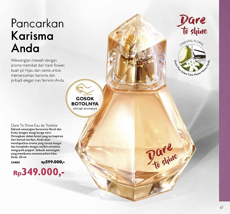 Diskon Parfum Oriflame Dare To Shine