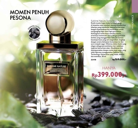Diskon Sublime Nature Tonka Bean Parfum