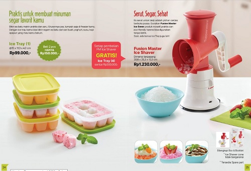 Tupperware Dapur di Katalog April 2020