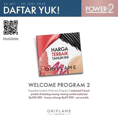 Hadiah Welcome Program Oriflame Juni 2020