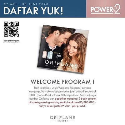 Welcome Program Oriflame Juni 2020
